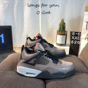"Air Jordan 4 Retro OG ""Taupe Haze"" Black Brown Mocha AJ4 Joe 4 Adhering to the l"